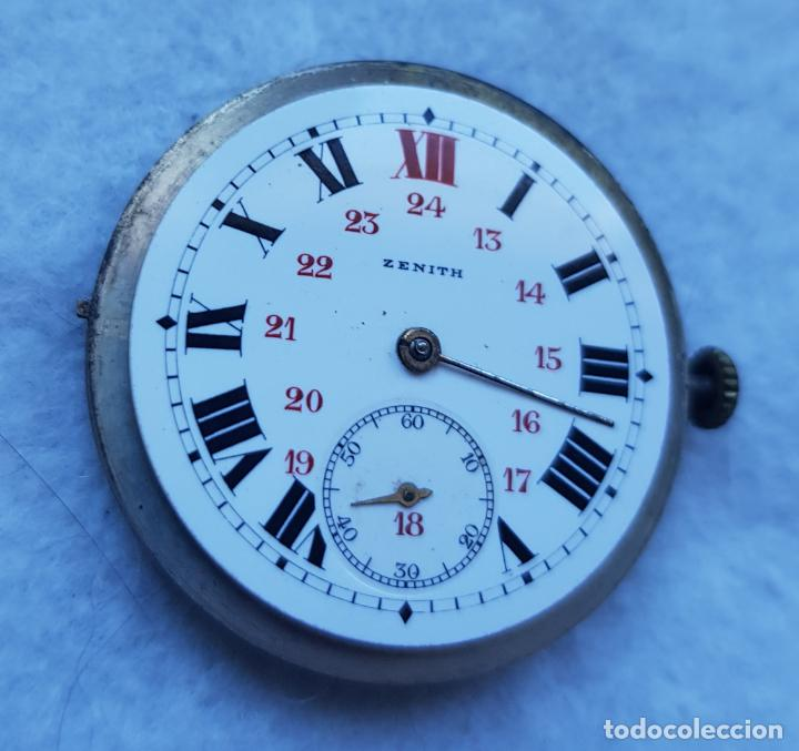 Relojes - Zenith: ZENITH ANTIGUO ESFERA PORCELANA + CALIBRE + BATA MANUFACTURA - Foto 4 - 239425635