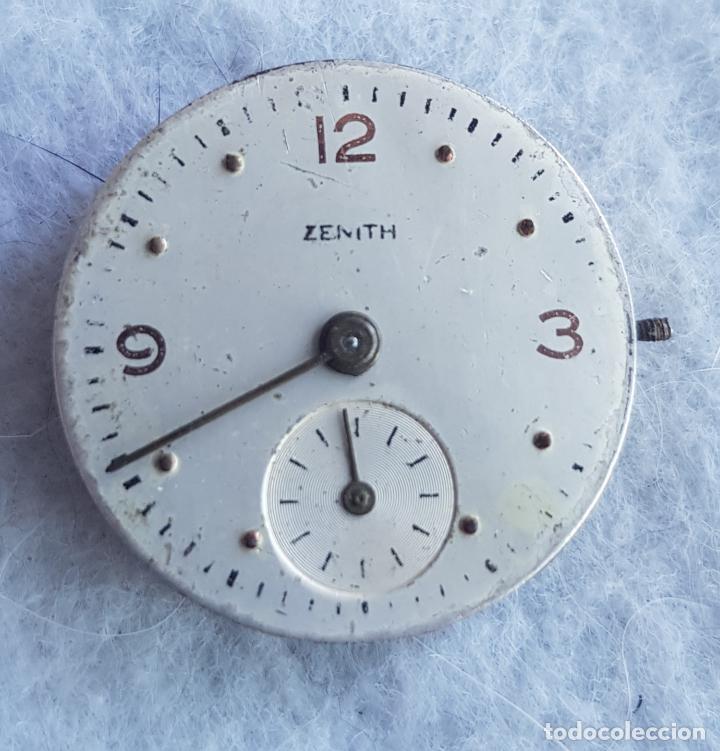 Relojes - Zenith: LOTE DE 3 CALIBRES ZENITH MANUFACTURA CON ESFERA ORIGINAL D3 - Foto 9 - 240606500