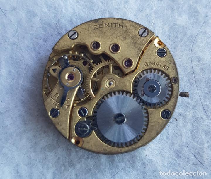 Relojes - Zenith: LOTE DE 3 CALIBRES ZENITH MANUFACTURA CON ESFERA ORIGINAL D3 - Foto 10 - 240606500
