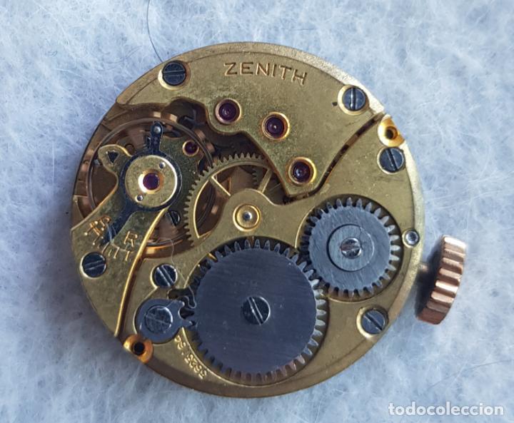 Relojes - Zenith: LOTE DE 3 CALIBRES ZENITH MANUFACTURA CON ESFERA ORIGINAL D3 - Foto 11 - 240606500