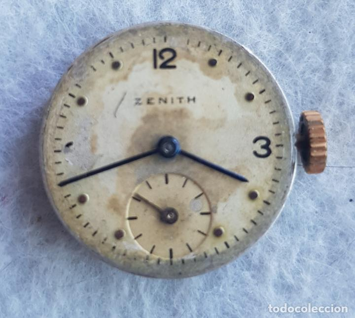 Relojes - Zenith: LOTE DE 3 CALIBRES ZENITH MANUFACTURA CON ESFERA ORIGINAL D3 - Foto 12 - 240606500