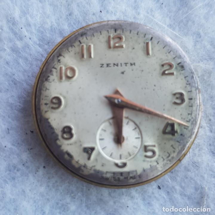 Relojes - Zenith: LOTE DE 3 CALIBRES ZENITH MANUFACTURA CON ESFERA ORIGINAL D3 - Foto 14 - 240606500