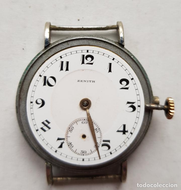 RELOJ ZENITH ASAS FIJA MILITAR TRINCHERA AÑOS 30 32.5MM (Relojes - Relojes Actuales - Zenith)