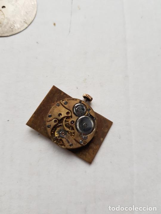 Relojes - Zenith: LOTE DE PIEZAS ZENITH ESFERAS Y UNA MAQUINA VER FOTOS ANTIGUAS - Foto 8 - 240800950