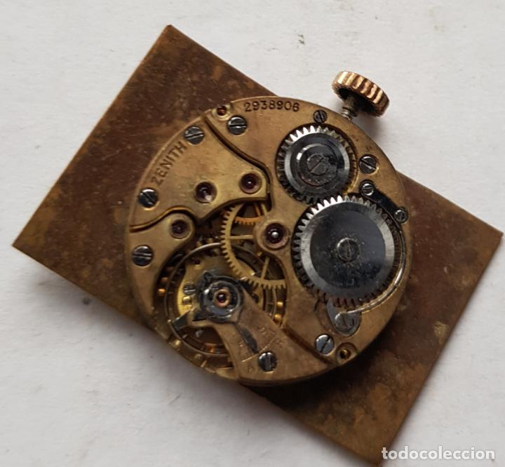 Relojes - Zenith: LOTE DE PIEZAS ZENITH ESFERAS Y UNA MAQUINA VER FOTOS ANTIGUAS - Foto 10 - 240800950