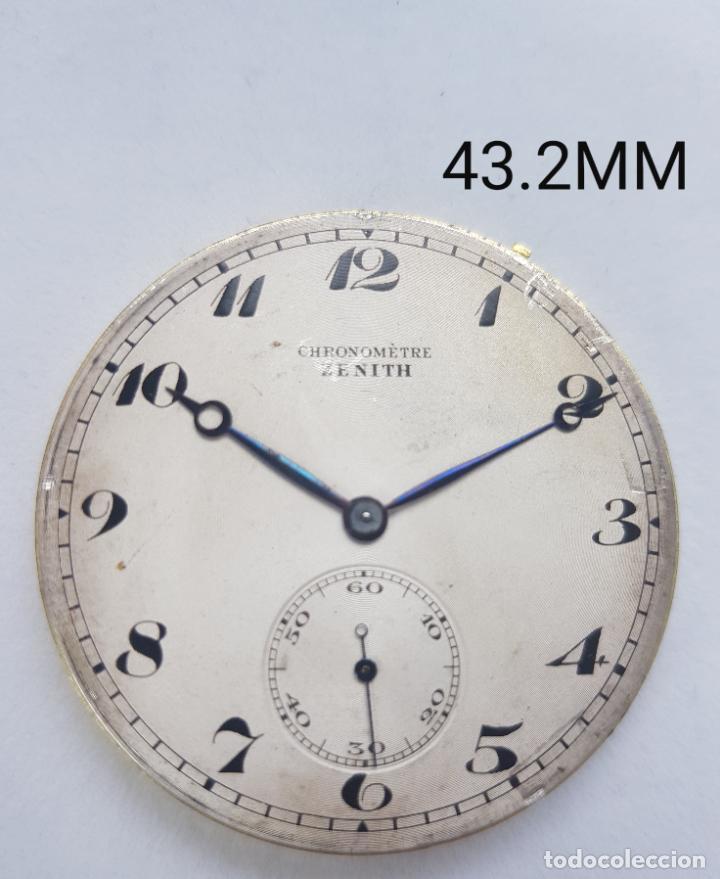 CALIBRE BOLSILLO CRONOMETRE ZENITH PROCEDENTE RELOJ ORO (Relojes - Relojes Actuales - Zenith)