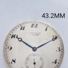 Relógios - Zenith: CALIBRE BOLSILLO CRONOMETRE ZENITH PROCEDENTE RELOJ ORO. Lote 247359905