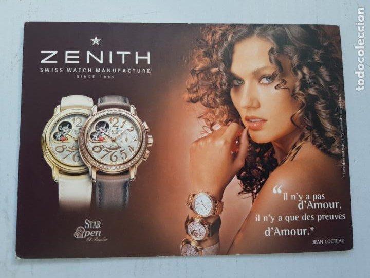 ZENITH POSTAL PUBLICITARIA (Relojes - Relojes Actuales - Zenith)