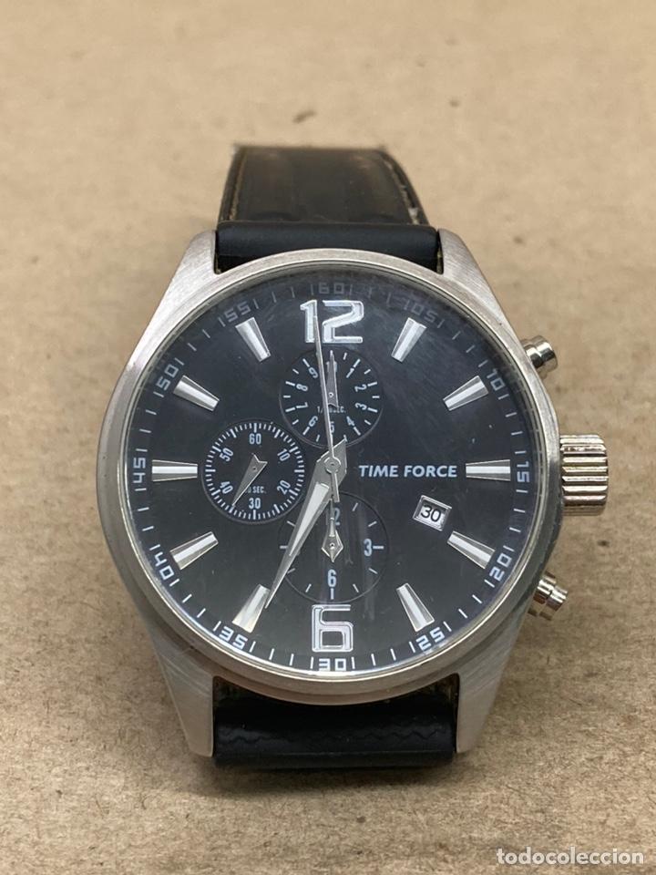 RELOJ TIME FORCÉ CHRONOGRAPH COMO NUEVO SE PUEDE VENDER CON CAJA (Relojes - Relojes Actuales - Zenith)