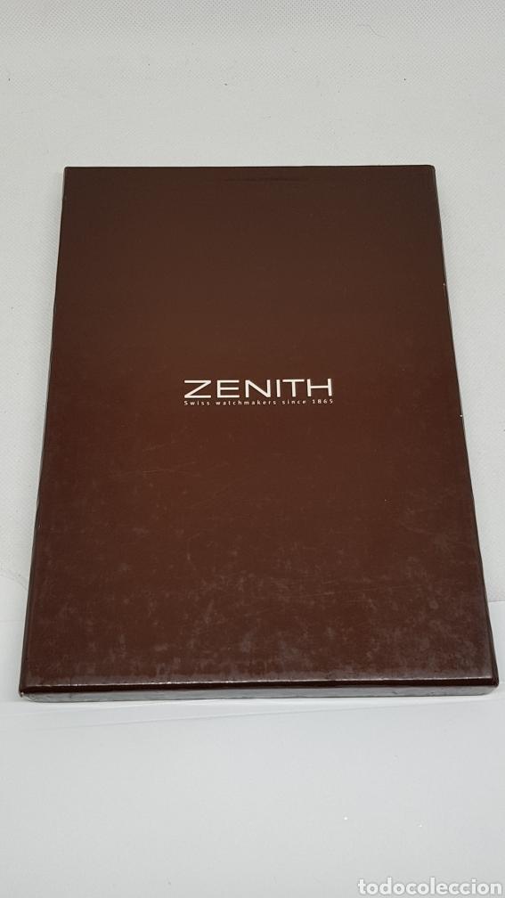 Relojes - Zenith: CATALOGO RELOJ ZENITH COLECCION 2001 CON SOBRE ESTUCHE SIN USO - Foto 4 - 260751100