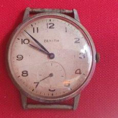 Relojes - Zenith: RELOJ ZENITH TIENE LA CORONA SUELTO NO FUNCIONA.MIDE 35 MM DIAMETRO. Lote 260863640