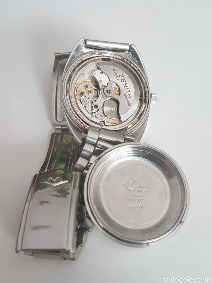 Relojes - Zenith: RELOJ MOVADO ZENITH 25 RUBIS PC 2542 - Foto 10 - 263146935