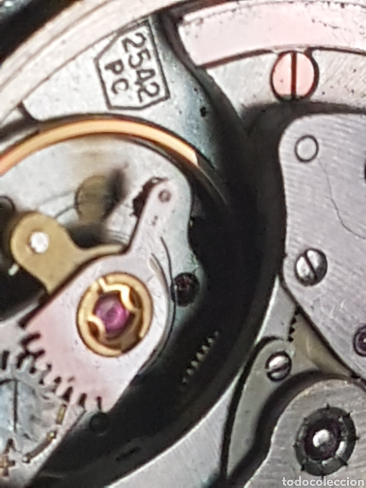 Relojes - Zenith: RELOJ MOVADO ZENITH 25 RUBIS PC 2542 - Foto 15 - 263146935