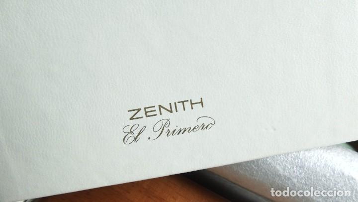 Relojes - Zenith: CAJA (NOS) MUY RARA, PARA RELOJES ZENITH EL PRIMERO - Foto 6 - 264705659