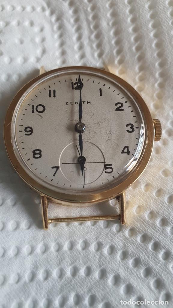 Relojes - Zenith: Magnifico zenith de cuerda, oro de 18 klts - Foto 2 - 265806599