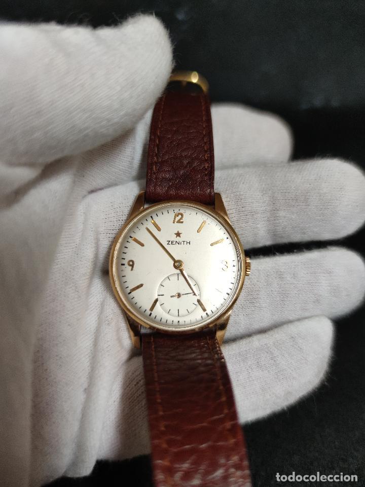 Relojes - Zenith: RELOJ ORO ZENITH AÑOS 50/60 - Foto 2 - 268763339