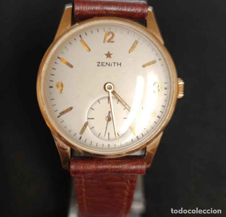 RELOJ ORO ZENITH AÑOS 50/60 (Relojes - Relojes Actuales - Zenith)