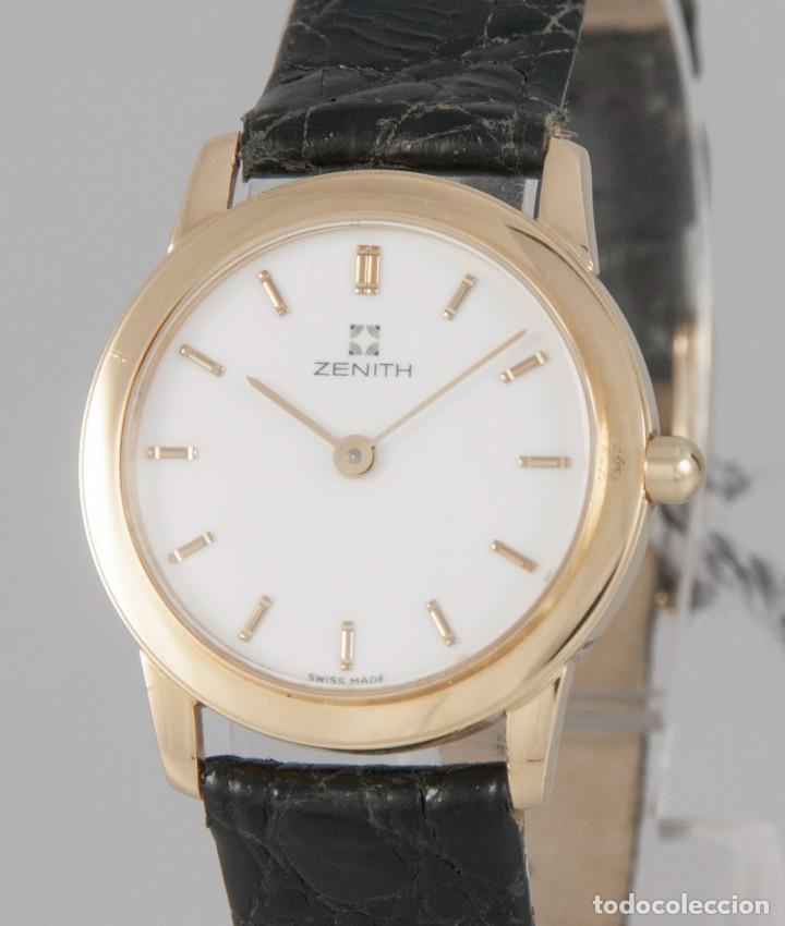 ZENITH QUARTZ YELLOW GOLD 18K REF: SC03 981 (Relojes - Relojes Actuales - Zenith)