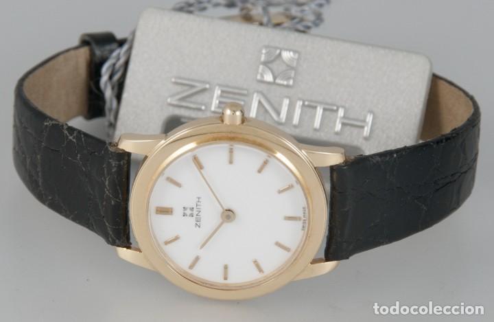 Relojes - Zenith: Zenith Quartz Yellow Gold 18k Ref: SC03 981 - Foto 3 - 274184753