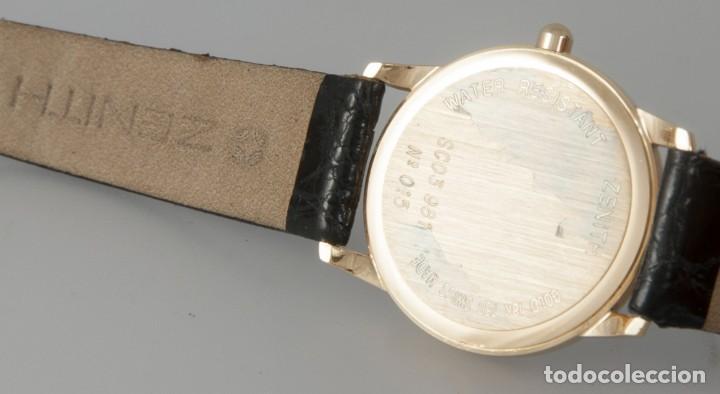 Relojes - Zenith: Zenith Quartz Yellow Gold 18k Ref: SC03 981 - Foto 10 - 274184753
