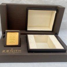 Relojes - Zenith: ZENITH. ESTUCHE RELOJ DE LUJO ZENITH. Lote 281935953