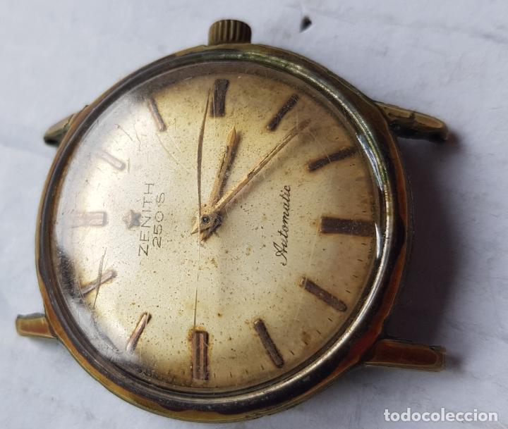 Relojes - Zenith: ZENITH 250 S CALIBRE 2532 AUTOMATIC VINTAGE 34MM - Foto 8 - 285057778