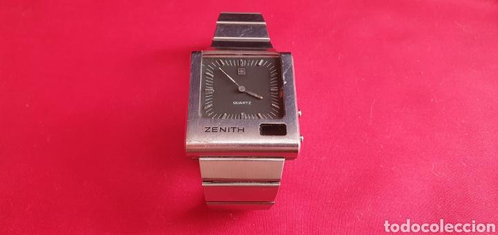 ANTIGUO RELOJ ZENITH DE CUARZO NO FUNCIONA.MIDE 34.3 MM X 38.4 MM (Relojes - Relojes Actuales - Zenith)