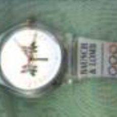 Relojes: ORIGINAL RELOJ DE PULSERA CONMEMORATIVO DE LAS OLIMPIADAS DE ATLANTA 1.996. TOTALMENTE PLÁSTICO. POR. Lote 23696834