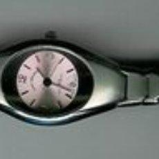 Relojes: RELOJ DE PULSERA DE CUARZO MARCA LUIS VALENTIN, EN ACERO BRILLO Y MATE RESISTENTE AL AGUA. CON ESFER. Lote 23750830
