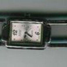 Relojes: RELOJ DE PULSERA DE CUARZO MARCA ACCENT, EN ACERO DE BRILLO RESISTENTE AL AGUA. CON ESFERA ROSA. DE. Lote 23750829