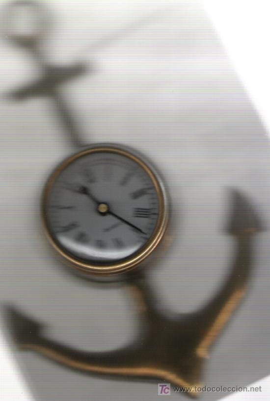BONITO RELOJ DE COLECCION DE PARED DE BRONCE EN PERFECTO FUNCIONAMIENTO (Relojes - Relojes Actuales - Otros)