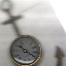 Relojes: BONITO RELOJ DE COLECCION DE PARED DE BRONCE EN PERFECTO FUNCIONAMIENTO . Lote 20941423