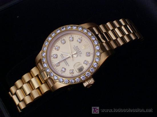 eb544e04123a Reloj Rolex Señora de calidad extraordinaria. automático. Modelo Datejust  Oyster perpetual.