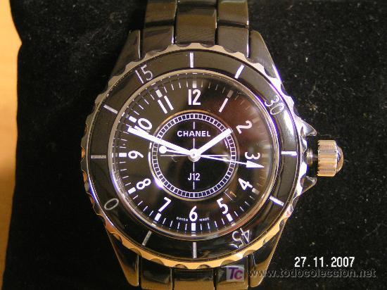 1144d81870d2 reloj chanel j12 ceramica real con caja y pape - Vendido en Subasta ...