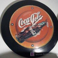 Relojes: RELOJ DE PARED COCACOLA. Lote 26723943