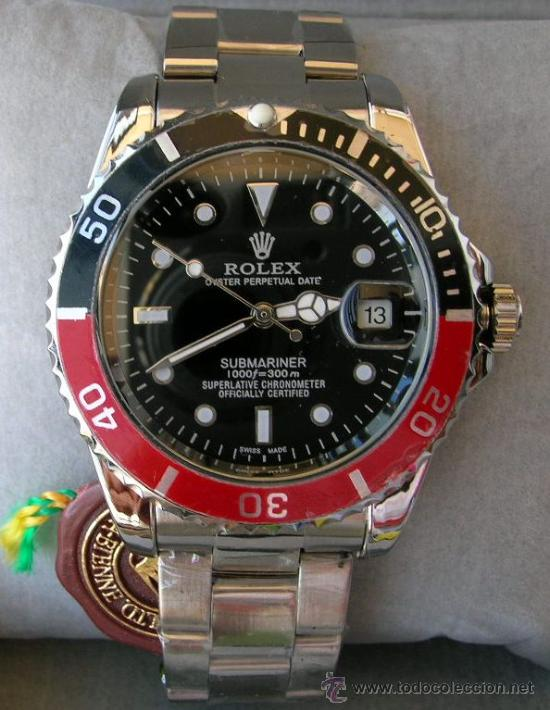 Rolex Azul Y Negro