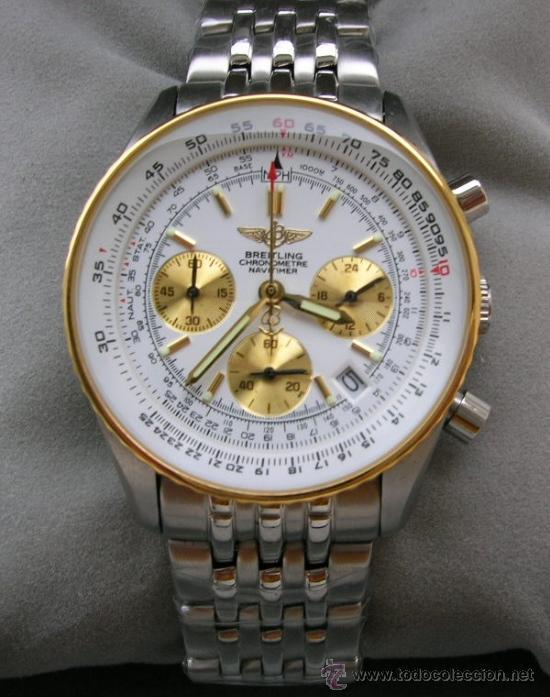 04a805b13953 Reloj breitling navitimer de mujer y cadete ofe - Sold through ...