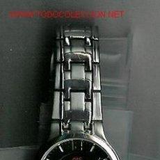 Relojes: BONITO RELOJ DE PULSERA MARCA ANNE KLEIN. CON FECHA. ESFERA NEGRA. CON AGUJAS Y HORAS LUMINOSAS EN L. Lote 23733628