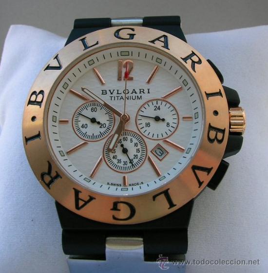 551b46a1ff4 Bulgari titanium crono funcional (réplica) - Vendido en Venta ...