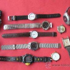 Relojes: LOTE DE 12 RELOJES. COLECCIONISMO.. ENVIO GRATIS¡¡¡. Lote 27302722