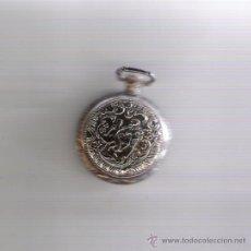 Relojes: BONITO RELOJ DE COLECCION DORADO MARCA DHALYA EN CON TAPA . Lote 18471200