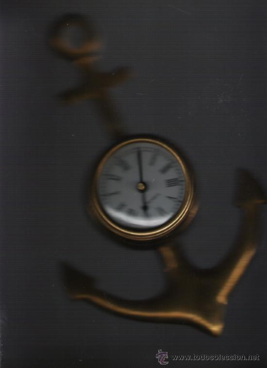 Relojes: BONITO RELOJ DE COLECCION DE PARED DE BRONCE EN PERFECTO FUNCIONAMIENTO - Foto 2 - 20941423