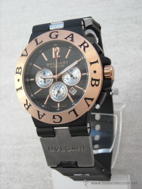 b2b8d76804d Reloj bulgari titanium crono funcional oro rosa - Vendido en Venta ...