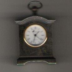 Relojes: PRECIOSO RELOJ DE COLECCION DE MARCA J WATCH DE 5 CM. DE ALTURA BAÑO DE PLATA . Lote 20959410