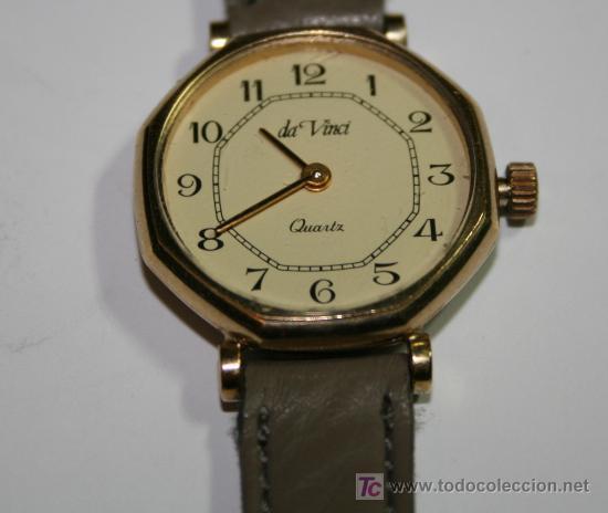 da Relo Reloj Vendido Venta Vinci Autentico quartz Estupendo En OkXZiuwPTl