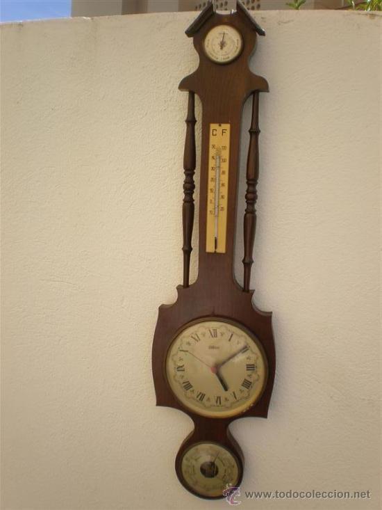 RELOJ, BAROMETRO, TERMOMETRO ETC (Relojes - Relojes Actuales - Otros)