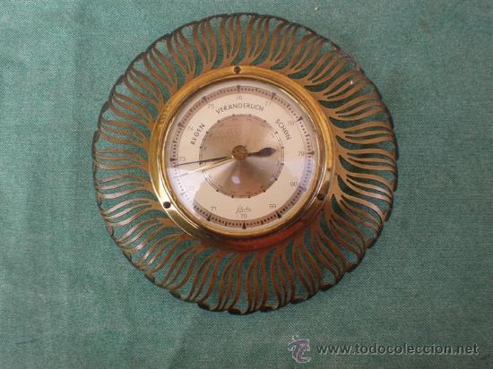 BAROMETRO (Relojes - Relojes Actuales - Otros)