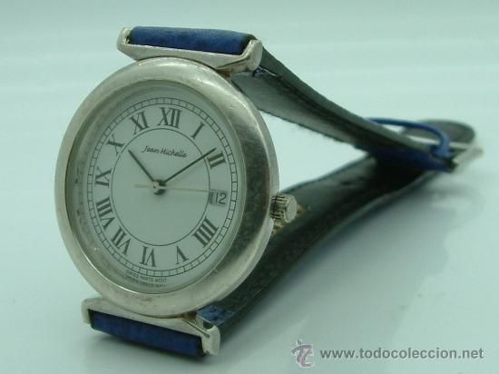 RELOJ DE PLATA JEAN MICHELLE 100 X 100 ORIGINAL (Relojes - Relojes Actuales - Otros)