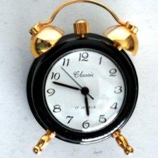 Relojes: RELOJ DESPERTADOR MINIATURA.. Lote 24908844