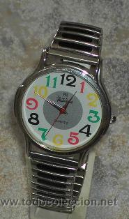 LOTE1595 RELOJ DECORACION JUVENIL (Relojes - Relojes Actuales - Otros)